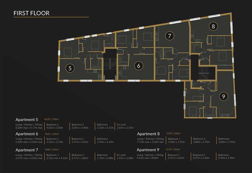 Floor Plan - First
