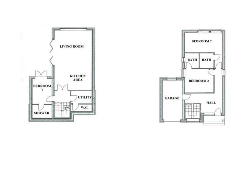 Knapp Lane Floor Plans